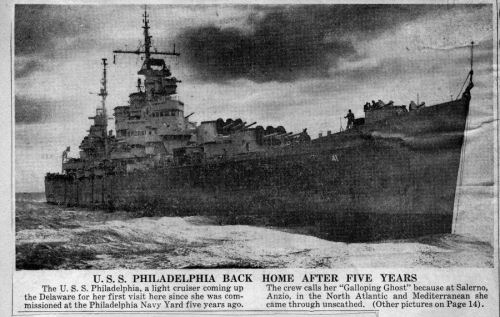 USS Philadelphia Tribute